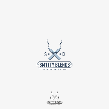 Logo Design @ SM1TTY BLENDS by playaone