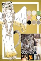 Moodboard Female leopard  by Pinkwolfly