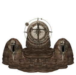 Stone Throne png by mysticmorning