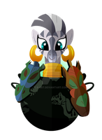 The Zebra Herbalist: Zecora by II-Art