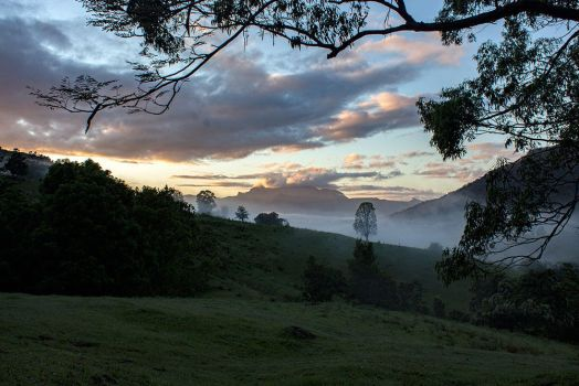 Early morning - Mt Warning, NSW, Australia by CouchyCreature