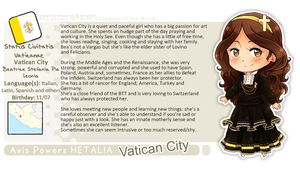 APH .:Chibi profile Vatican City:. by FedeEvilQueen