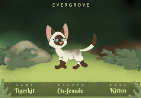 Tigerkit | Evergrove by softpaaws