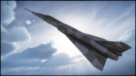 Mirage IV - French Nuclear Deterrent by macsix