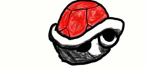 red shell by Wounttie
