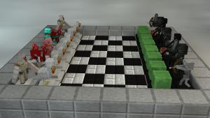 Minecraft Chess by Sola-King