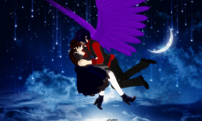 Whole New world with Dark Mousy by girlnephilim90