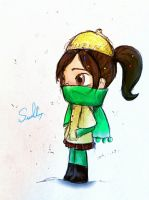 winter Vanellope by summilly