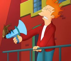 Stupidity, Thy Name Is Fry by MegBeth