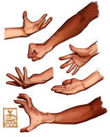 More arm studies by Malacandrax