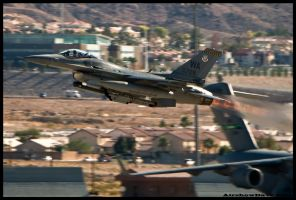Nellis F-16 Viper by AirshowDave