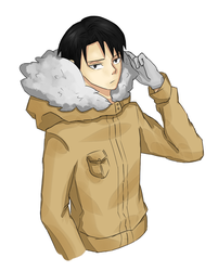 Levi in Winter Jacket by Mira-Vegas