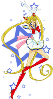 Sailor Moon by SiriouslySiris