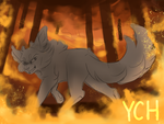 [YCH Auction] Burn (CLOSED) by Dreaming-Roses