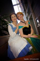 Belle and Anna by LilyannaMalfoy