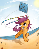 Scootaloo's summer holiday pt2 by secret-pony