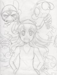 Ika's Inkvasion of the Keroro Platoon! by GMPGunso