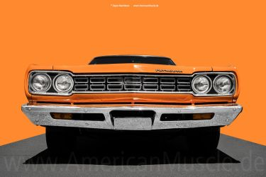 1968 Road Runner Front by AmericanMuscle