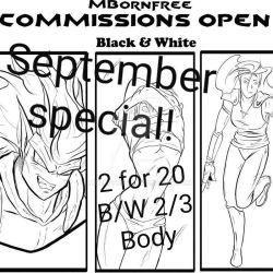 September Commission Special!!!  by MBornfree