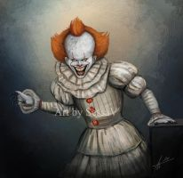 IT - Pennywise 2017 - 2 by SessaV