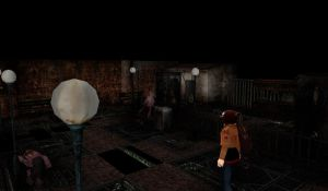 MMD Stage Silent Hill 3 Theme Park DL by Clonesaiga