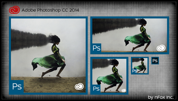 Adobe Photoshop CC 2014 tile by nfox25