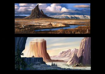 environmental concepts1 by TheBeke