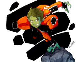 Beast Boy by MikeES