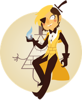 Gravity Falls - Bill Cipher by Fafanny15