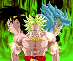 Broly 2 by Maniaxoi
