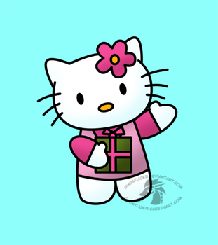 Hello Kitty by GhostLiger