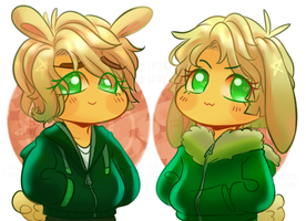 Ninjago Movie And Tv Lloyd Rabbits by YASSDENSWH