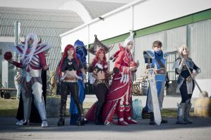League of legends cosplay group by ValeeraHime