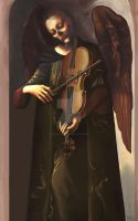 The Angel of Music by Sylent-Fantome