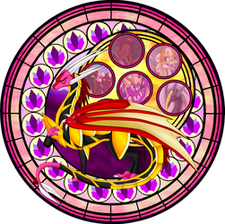 Frillisean Stained Glass by Seeraphine
