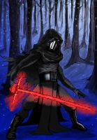 Kylo Ren by ComicStumps