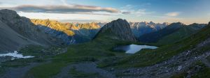First sunlight on lake Kogelsee by acoresjo88
