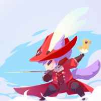 Red Mage Chi by chocolate-rebel