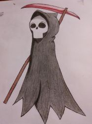 Death Doodle by shinigami1717