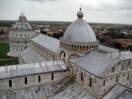 View from the Tower of Pisa 02 by JoshuaJMorgan
