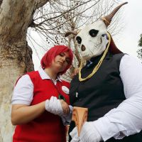 Elias and Chise cosplay by Soulren