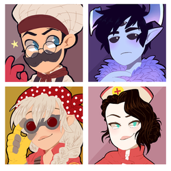 Icon commission pack number 108 by BloodyArchimedes