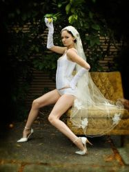Lingerie Wedding by sugar-plum-delusions