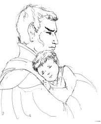 WIP Father's Day Illustration by karracaz
