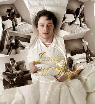 James in my bed xD by Midnight-Cake