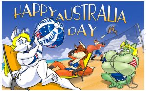 Acme Aussie Day by GreyOfPTA