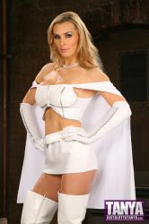 Tanya Tate Cosplay As Emma Frost by TanyaTate