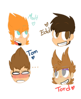 -EDDSWORLD-  lil' old legends!  #1 by D-akii