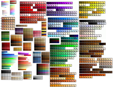 my palettes by anarie