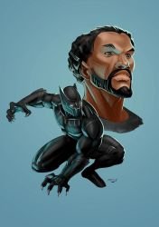 Black Panther by maristane